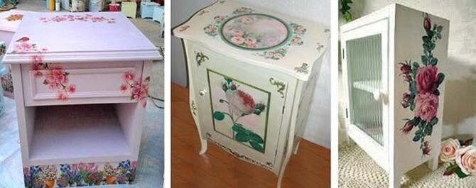 Декупаж своими руками мастер класс мебель