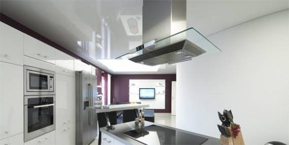 Светящийся потолок на кухне