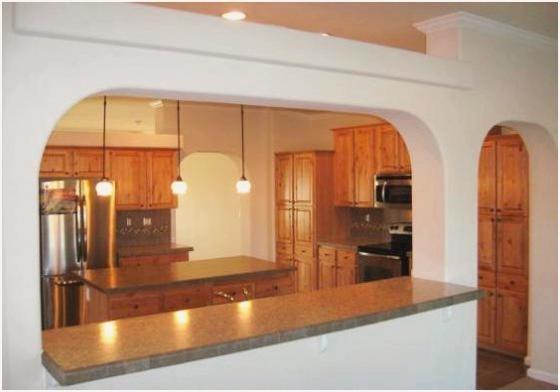 Фото арки на кухне