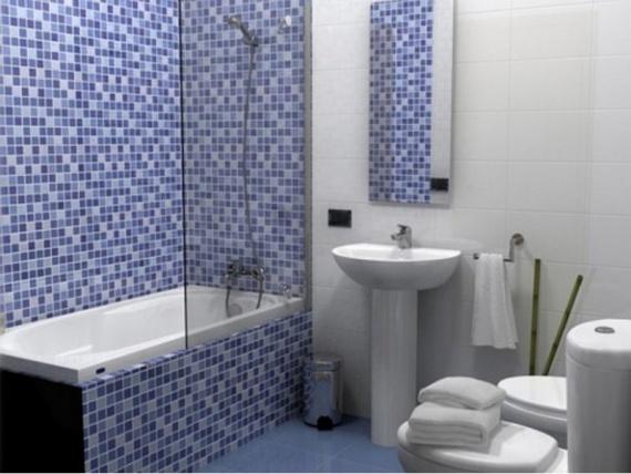 Пластиковая плитка для ванной комнаты
