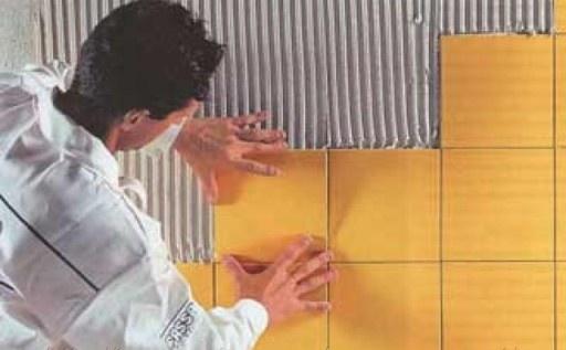 Расход плиточного клея на 1м2