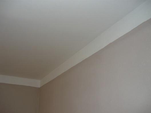 Как покрасить потолок без разводов?
