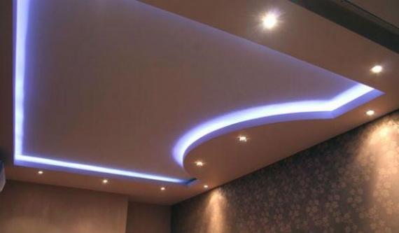 Фигурная конструкция с мягкой светодиодной подсветкой