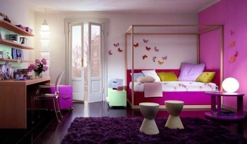 Стильный романтичный дизайн комнаты