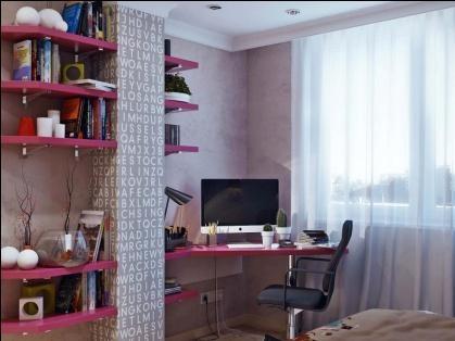 Рабочий стол у окна