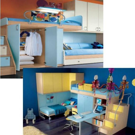Варианты оформления половины комнаты для одного ребенка