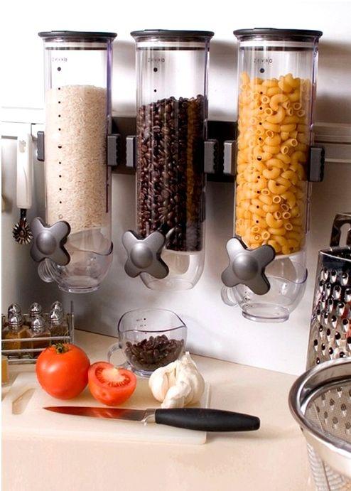 Стеклянные сосуды для хранения сухих порошков или круп