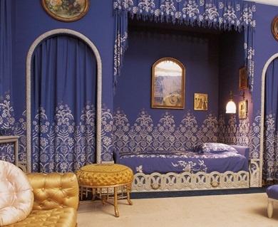 Красиво стилизованное спальное место