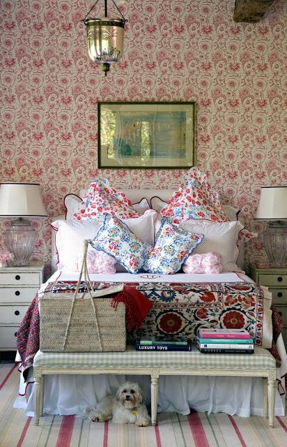 Обустройство пространства у кровати