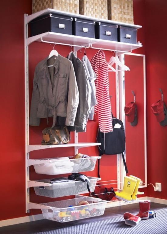 Удобная гардеробная система