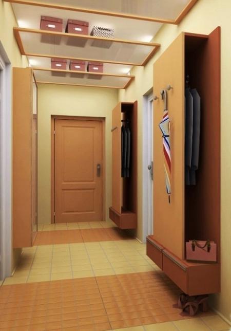 Удобные шкафы-вешалки