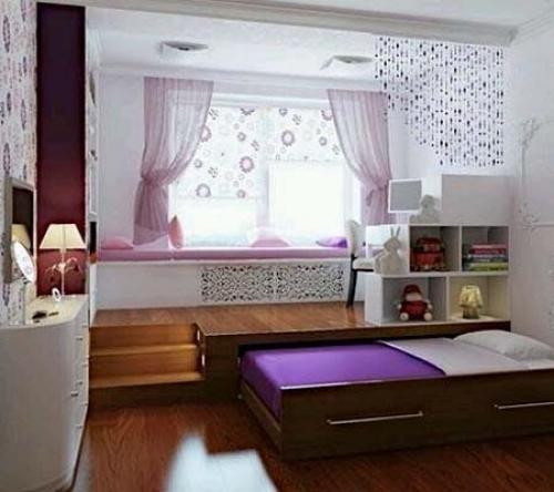 Выдвижная двухспальная кровать