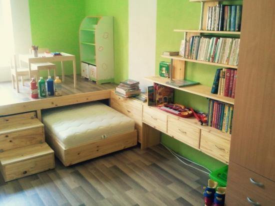 Встроенная мебель - отличный выход