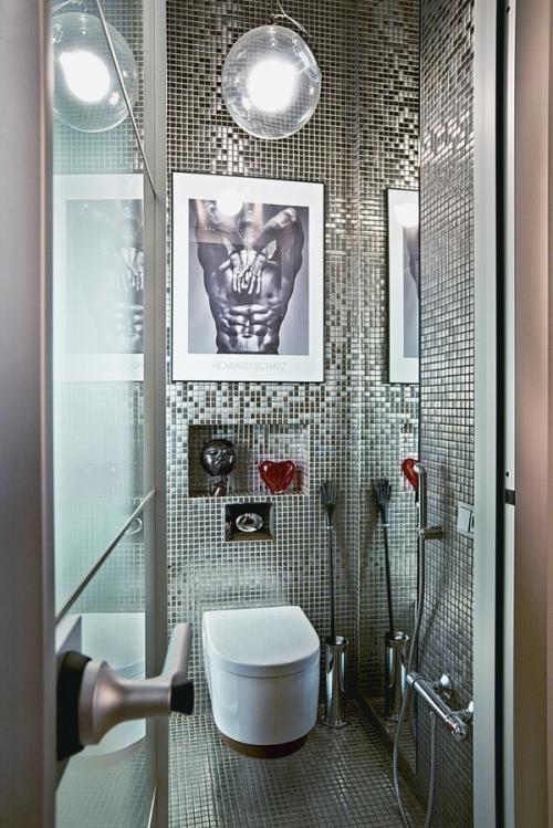 Картины и ниши в ванной комнате