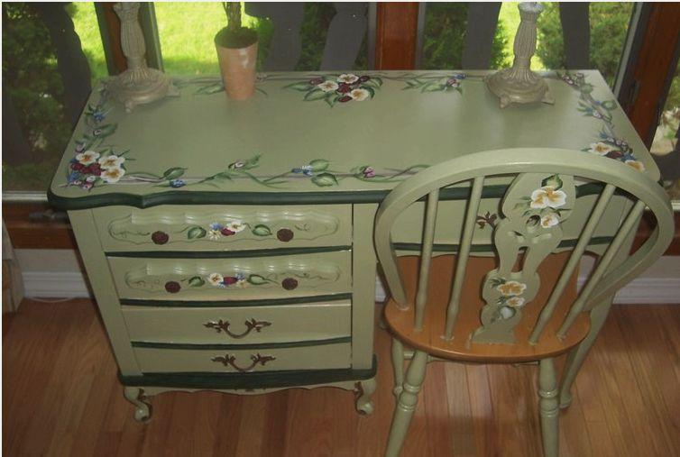 Реставрация и декупаж старой мебели своими руками