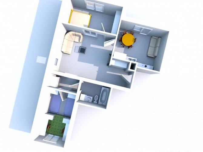 Отделка квартир мортоном