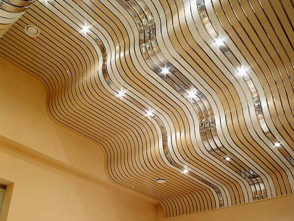 Многоуровневый алюминиевый потолок