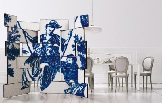 Плитка-мозаика на мебели