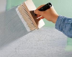 Подготовка перед покраской стен