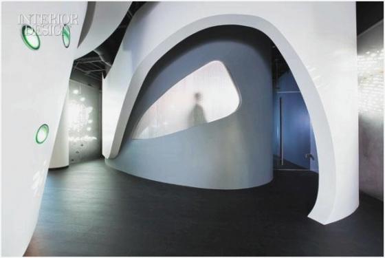 Футуристический дизайн арки