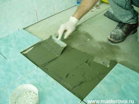 Правильная укладка плитки очень важна