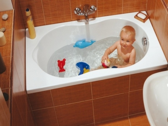 Маленький размер ванной