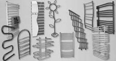 Различные модели полотенцесушителей