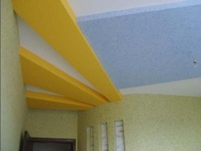 В желто-голубых тонах