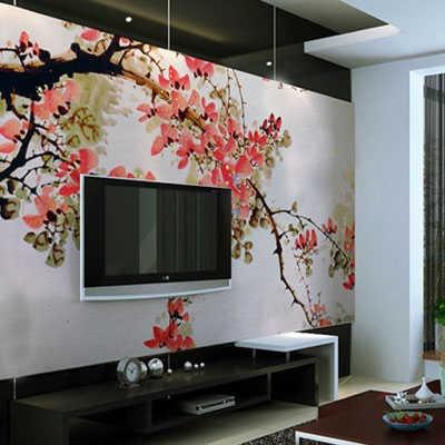 Фреска в японском стиле