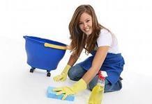 Мыть полы легче со шваброй