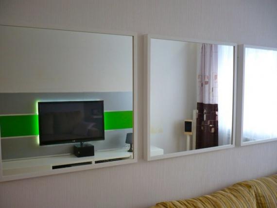 Увеличиваем пространства за счет зеркал