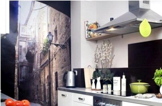Панорамные фотообои на всю стену