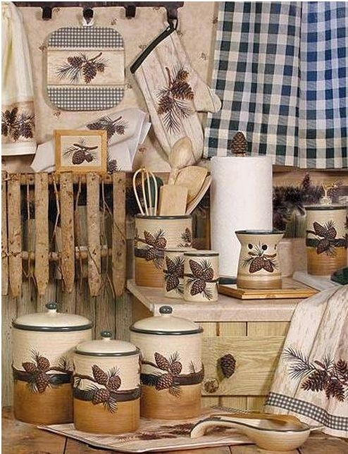 Набор декоративного текстиля отлично сочетается с керамикой
