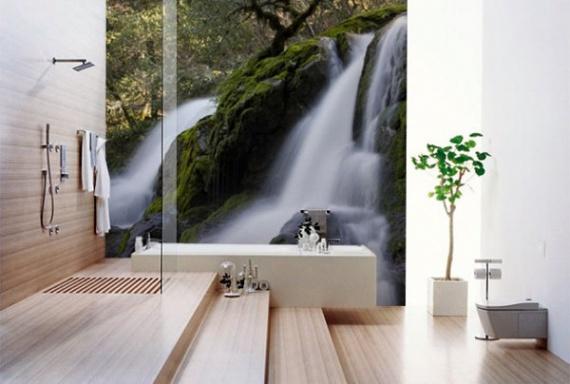 Водопад для ванной комнаты