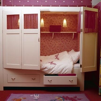 Спальное место для девочки или мальчика