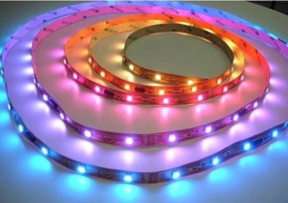 Цветные светодиодные ленты