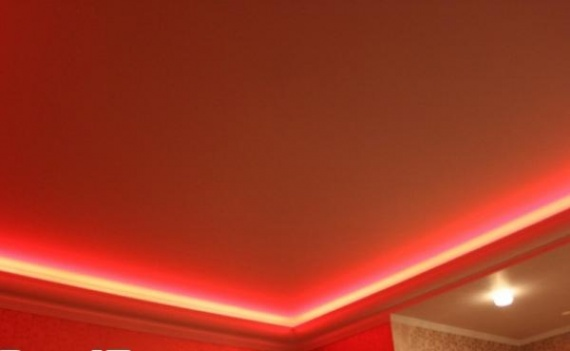 Красный свет по периметру