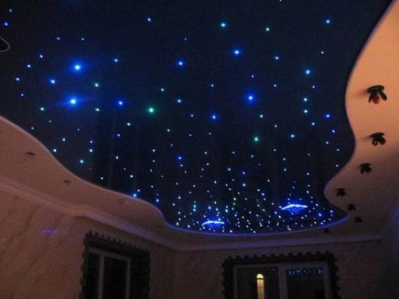 Подсветка в стиле звездного неба