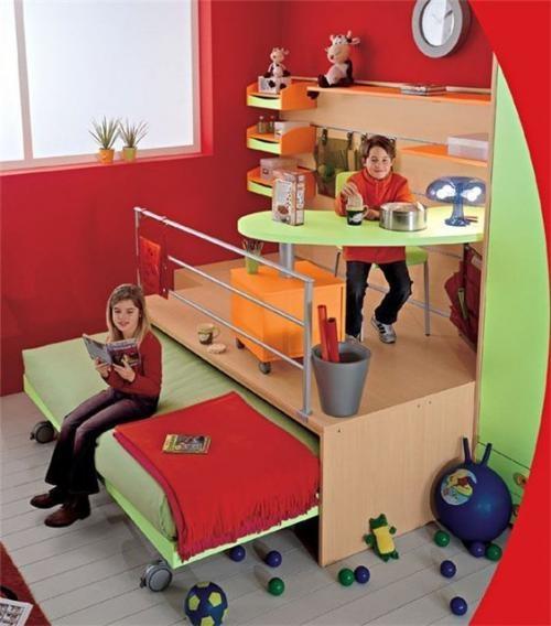 Достаточно места для двух детей