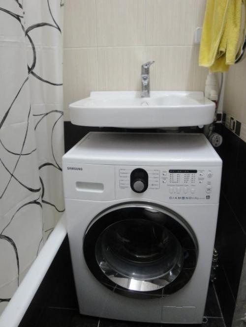 Размещаем стиральную машинку